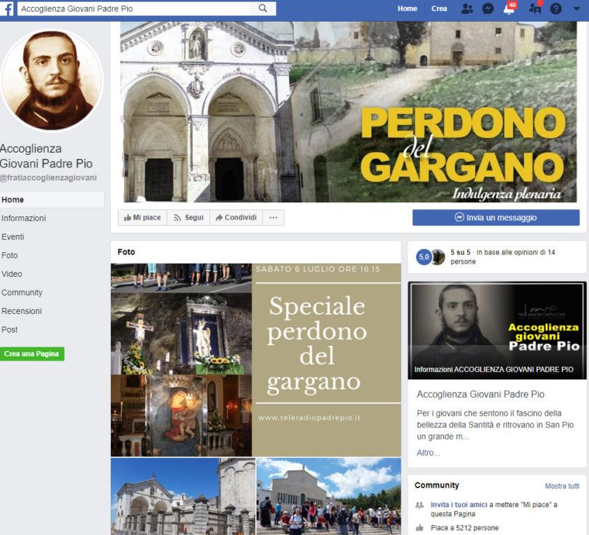 Accoglienza Giovani Padre Pio