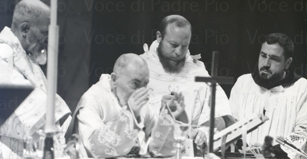 padre pio messa