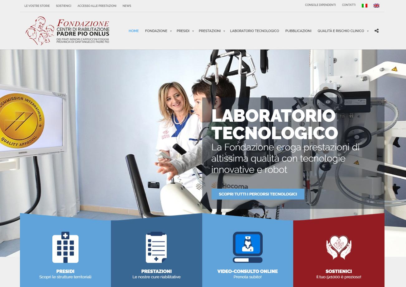 www.fondazionecentripadrepio.it
