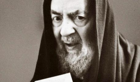 Padre Pio sguardo