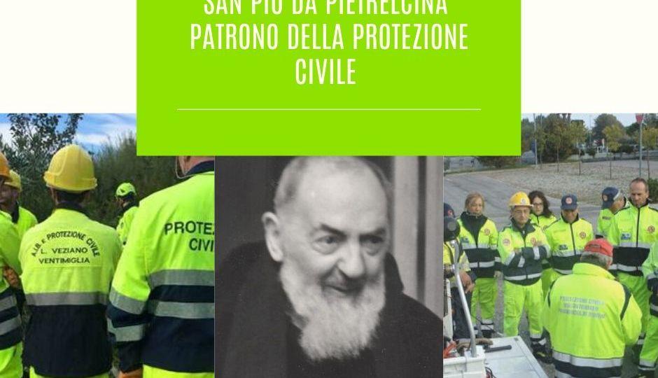 San Pio da Pietrelcina Patrono della Protezione Civile