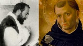 Padre Pio e San Domenico