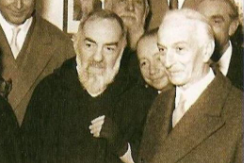 Onorevole Segni e Padre Pio
